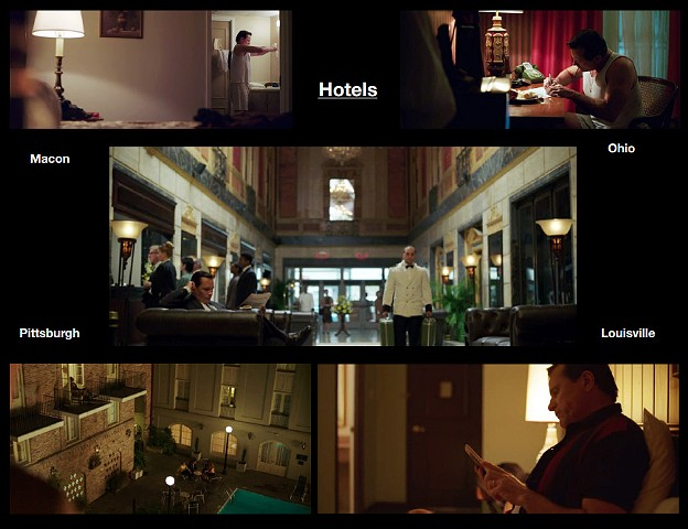 Hotels, the North