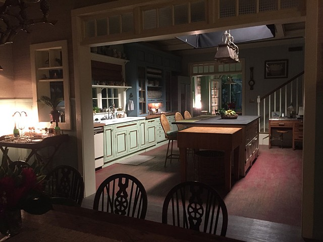 Rayburn Inn kitchen