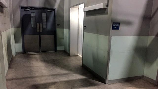 Morgue Hallway
