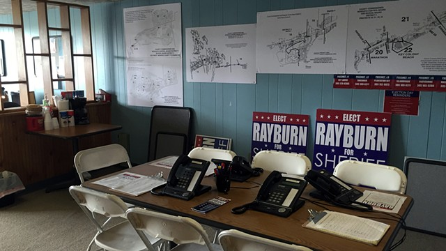 John's Campaign Office