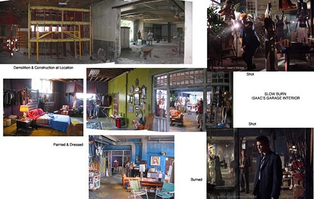 Issac's Garage Interior