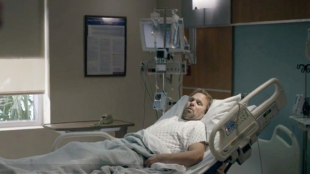 Kevin's Hospital Room