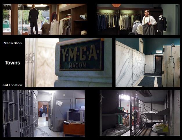 YMCA, the Jail