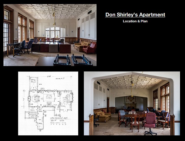 Shirley's Apt, the location