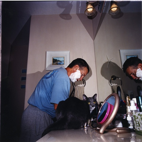 Shaving with Scooter