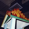 Fire Roof Obstacle