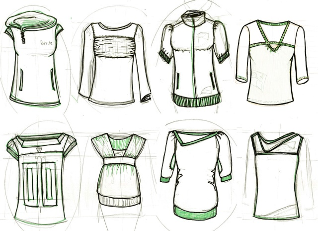 Apparel Sketching