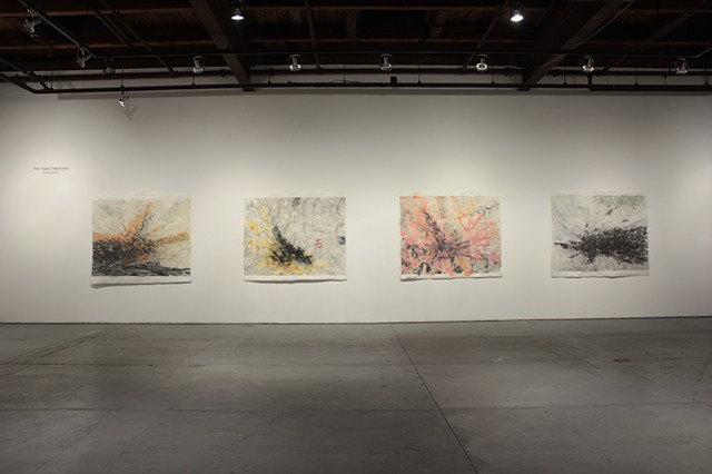 "Installation shot: ""Time-Space Compression"" at Real Art Ways, Feb 20 - May3, 2020"