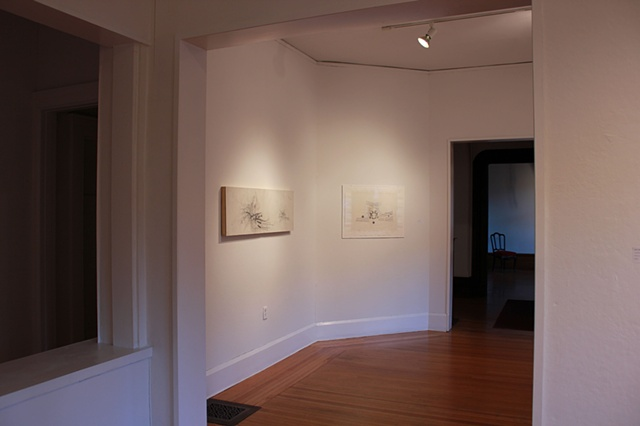 Installation view of  Exploded Views at the John Slade Ely House Center for Contemporary Art