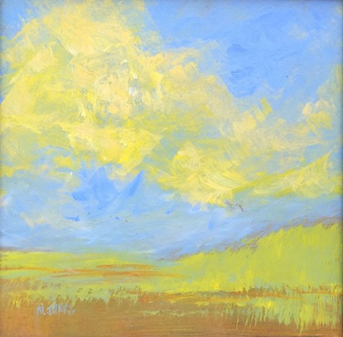 Summer Sky: Light Blue and Yellow