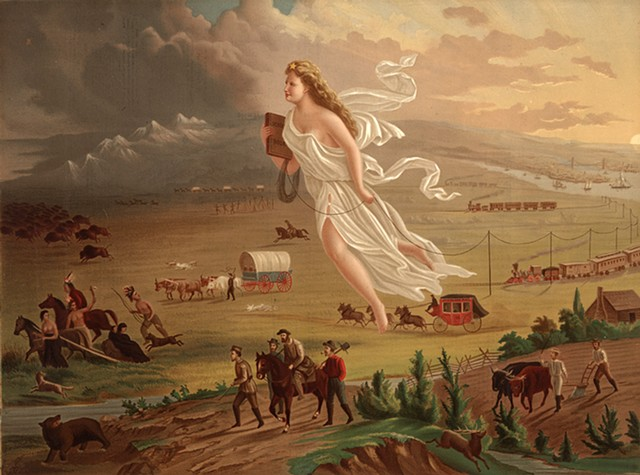 John Gast, American Progress 1872