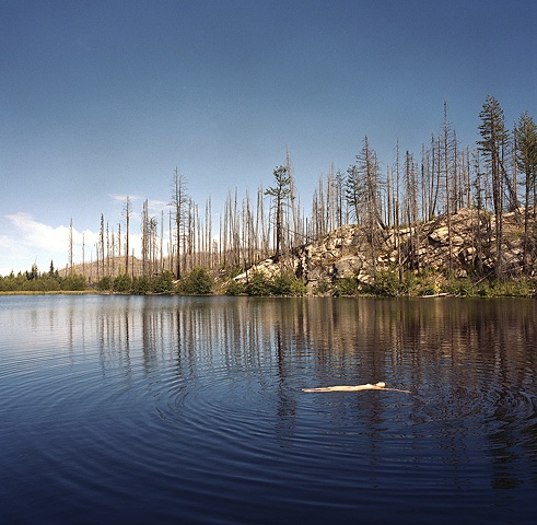 Swimmer, Near Chute Lake, 2012 Tara Nicholson