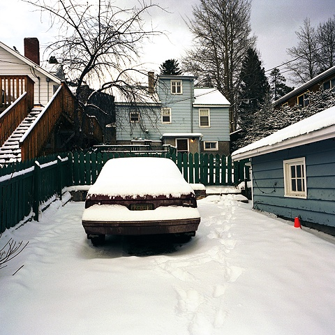 Kate's Car, Winter Banff, Alberta