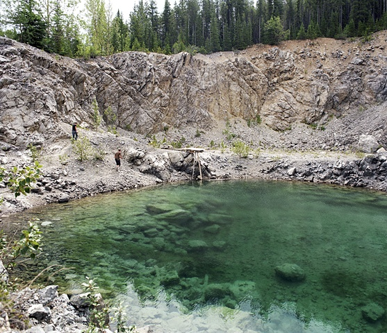 Local's Quarry, Banff