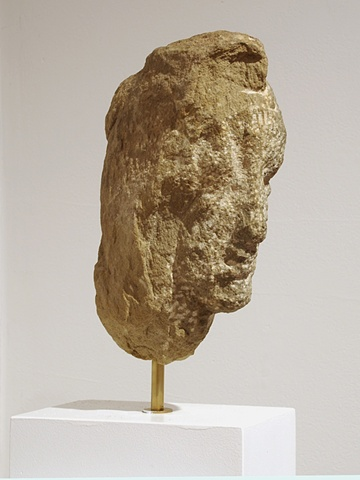 North of New York-Nicolas Carone, stone head
