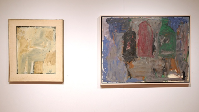 North of New York-from left: Conrad Marca-Relli, Philip Guston