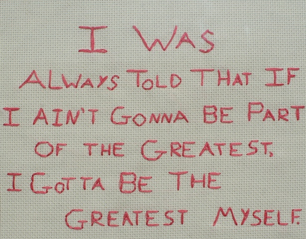 cross stitch, ya bitch