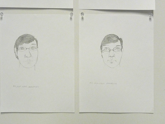 Drawings from Memory (install shot)