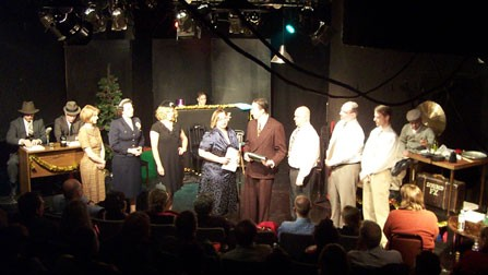 "The cast of  ""Armageddon Radio Hour New Years Eve"" 2005."