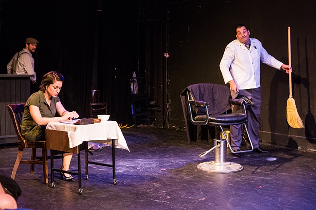 Concetta Rose Rella and Robert Funaro in the production at Nylon Fusion. Photo by Al Foote III Theatrical Photography.