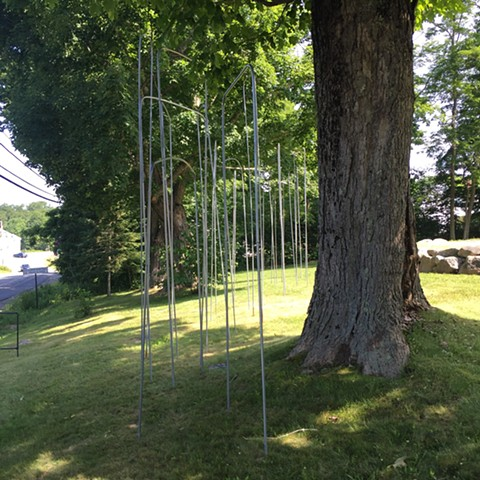 Free Range Sculpture - outdoor installation,