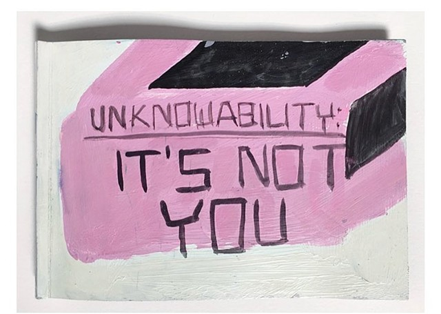 Unknowability: It's Not You