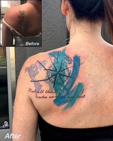 Travel cover up
