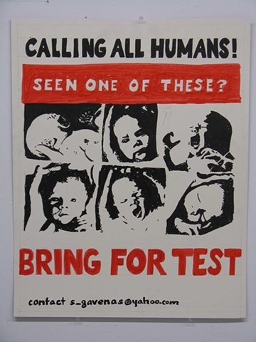 Call to Bring Babies for Test