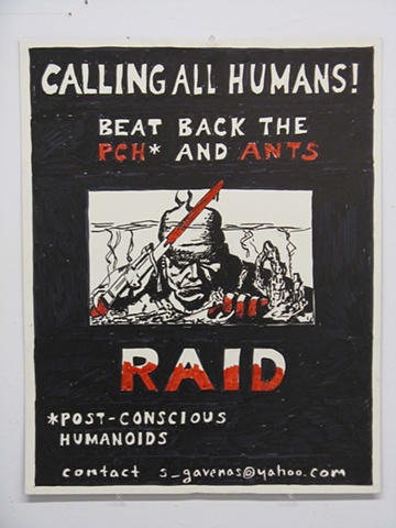 Call to Beat Back the Ants and Post-Conscious Humanoids
