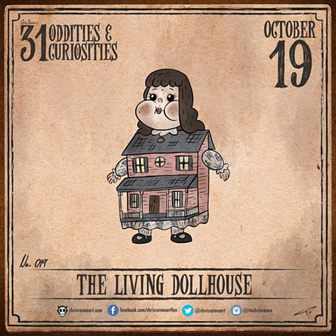 Day 19: The Living Dollhouse
