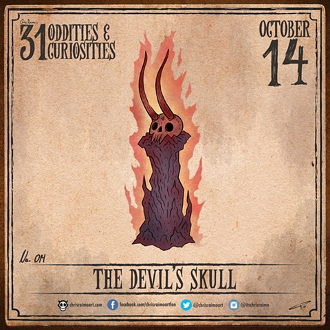 Day 14: The Devil's Skull
