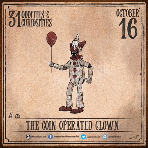 Day 16: The Coin Operated Clown