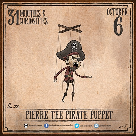 Day 6: Pierre the Puppet Pirate