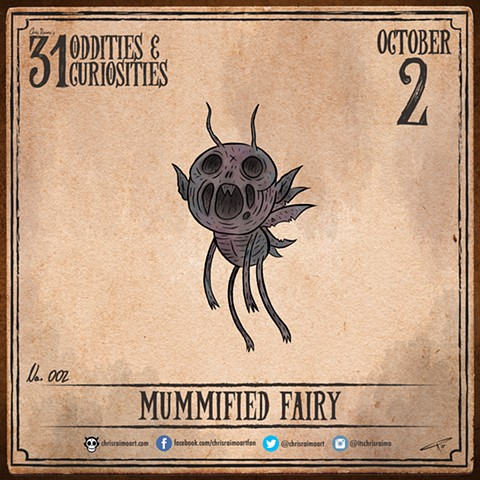 Day 2: Mummified Fairy