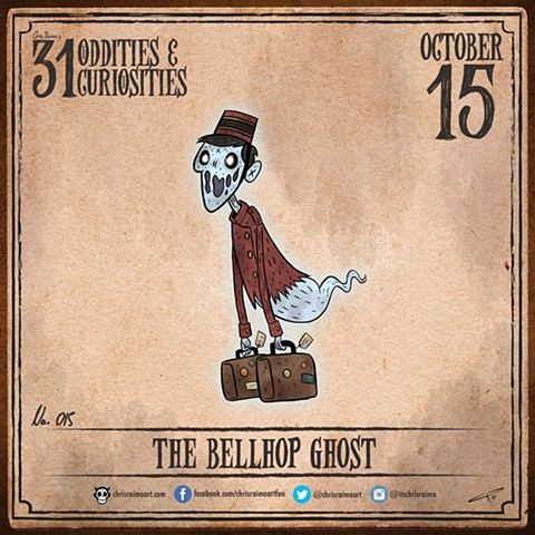 Day 15: The Bellhop Ghost