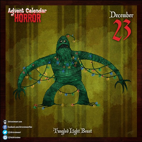 Day 23: Tangled Light Creature