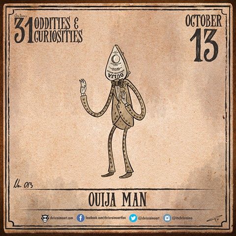 Day 13: Ouija Man