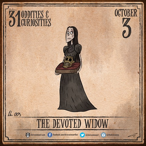 Day 3: The Devoted Widow