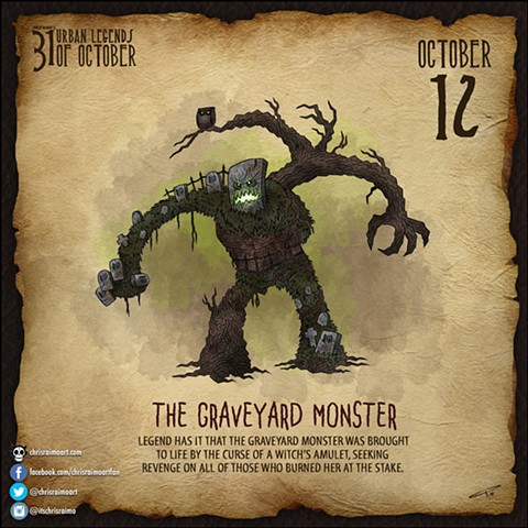 Day 12: The Graveyard Monster