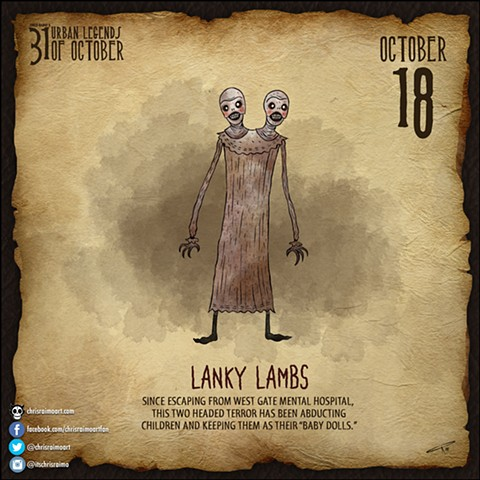 Day 18: Lanky Lambs