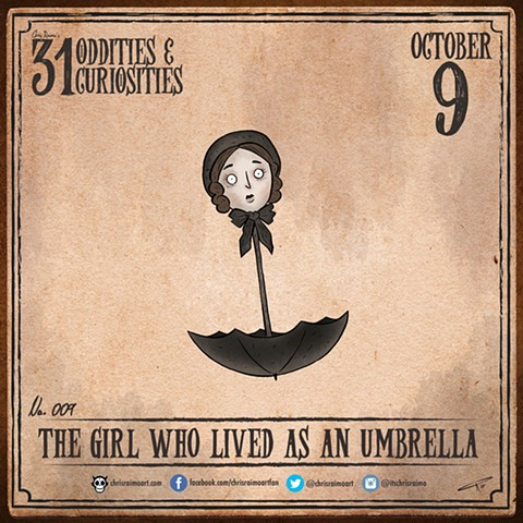 Day 9: The Girl Who Lived As An Umbrella