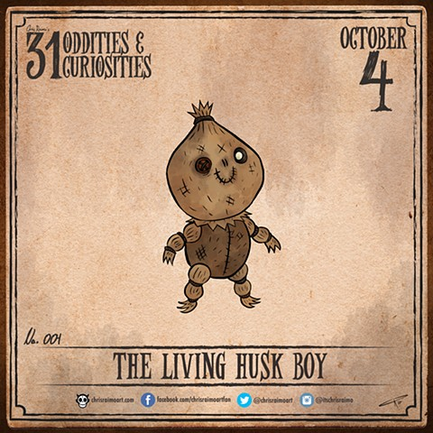 Day 4: The Living Husk Boy