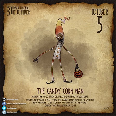 Day 5: The Candy Corn Man