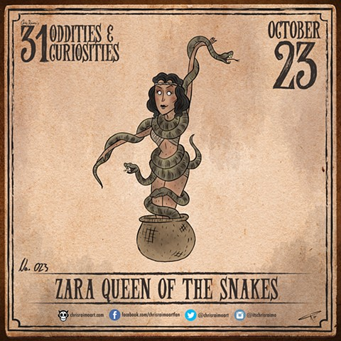 Day 23: Zara the Queen of Snakes