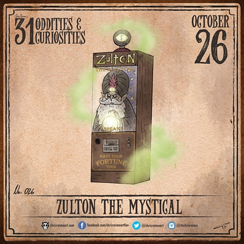 Day 26: Zulton the Mystical
