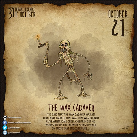 Day 21: The Wax Cadaver