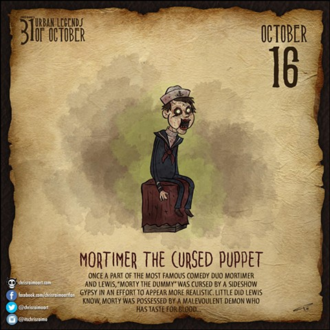 Day 16: Mortimer The Cursed Puppet
