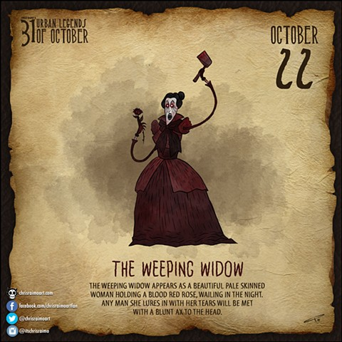 Day 22: The Weeping Widow