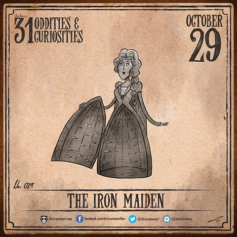 Day 29: The Iron Maiden