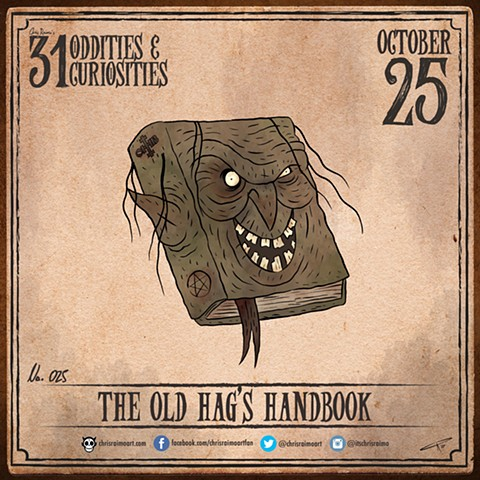 Day 25: The Old Hag's Handbook